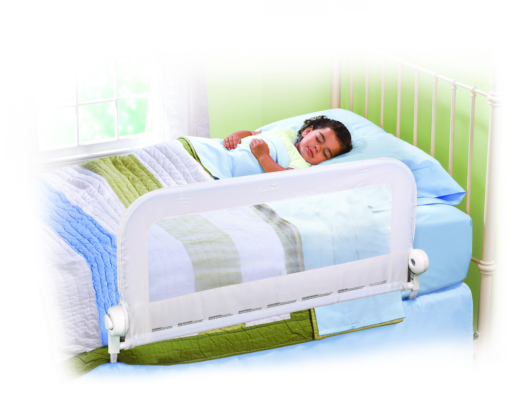 Grow With Me Single Bedrail White Summer Infant Baby