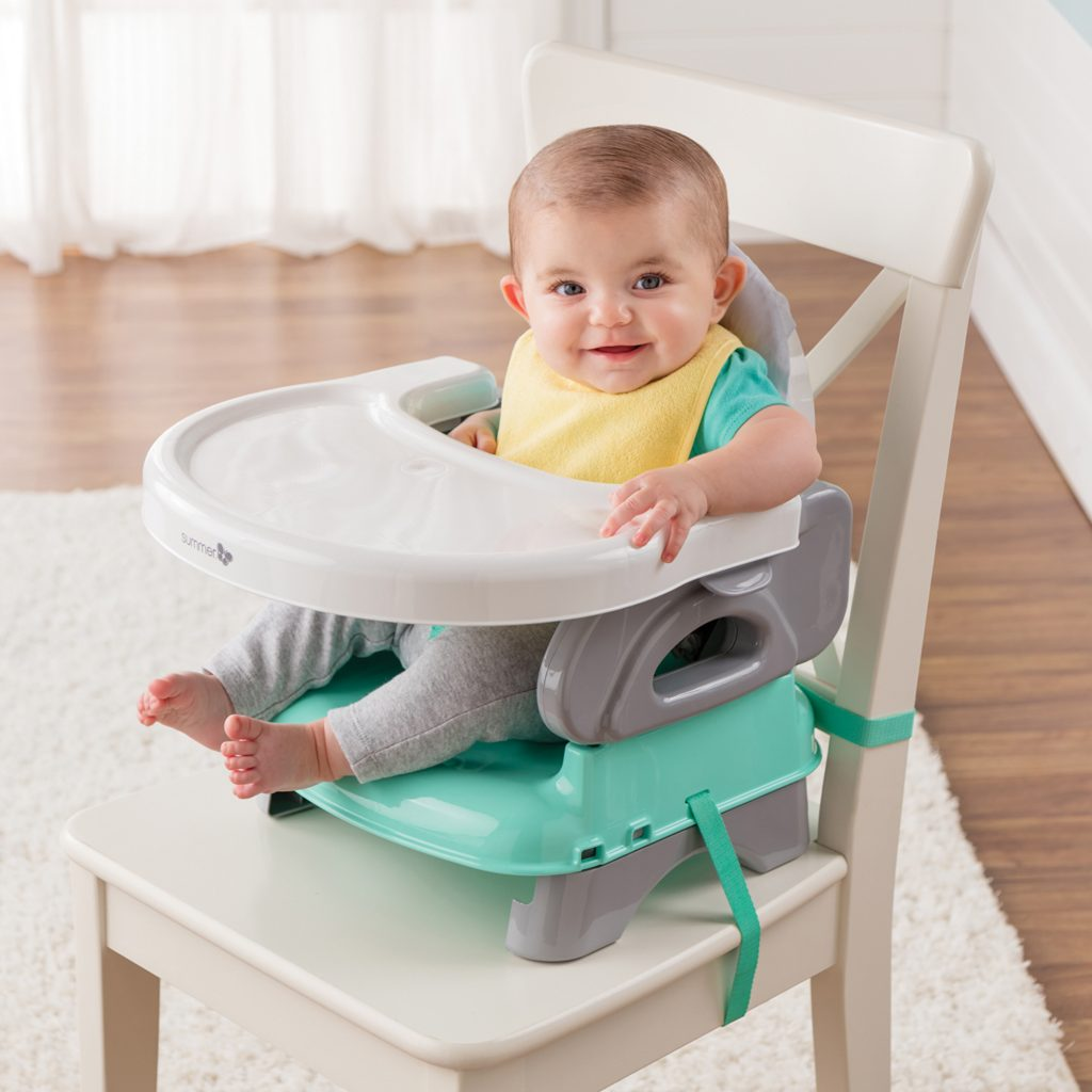 Deluxe Comfort Folding Booster Seat Summer Infant Baby