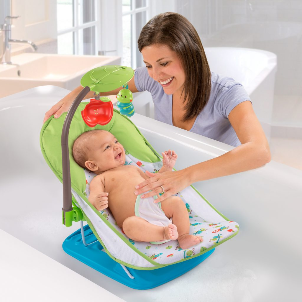 DELUXE BABY BATHER CATERPILLAR with TOY BAR - Summer Infant baby ...