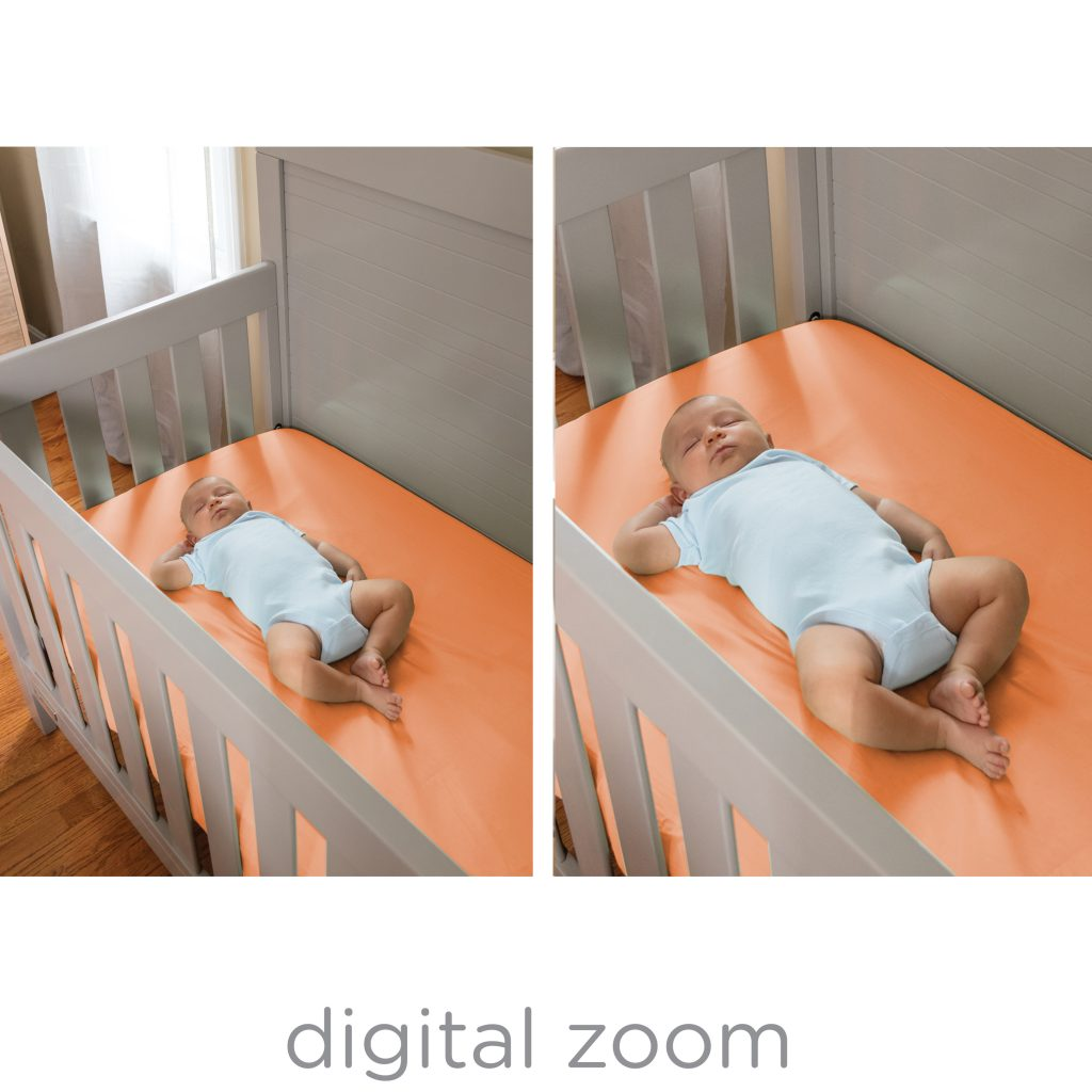 Wide view 2 0 duo digital video baby monitor for Bed tech 3000