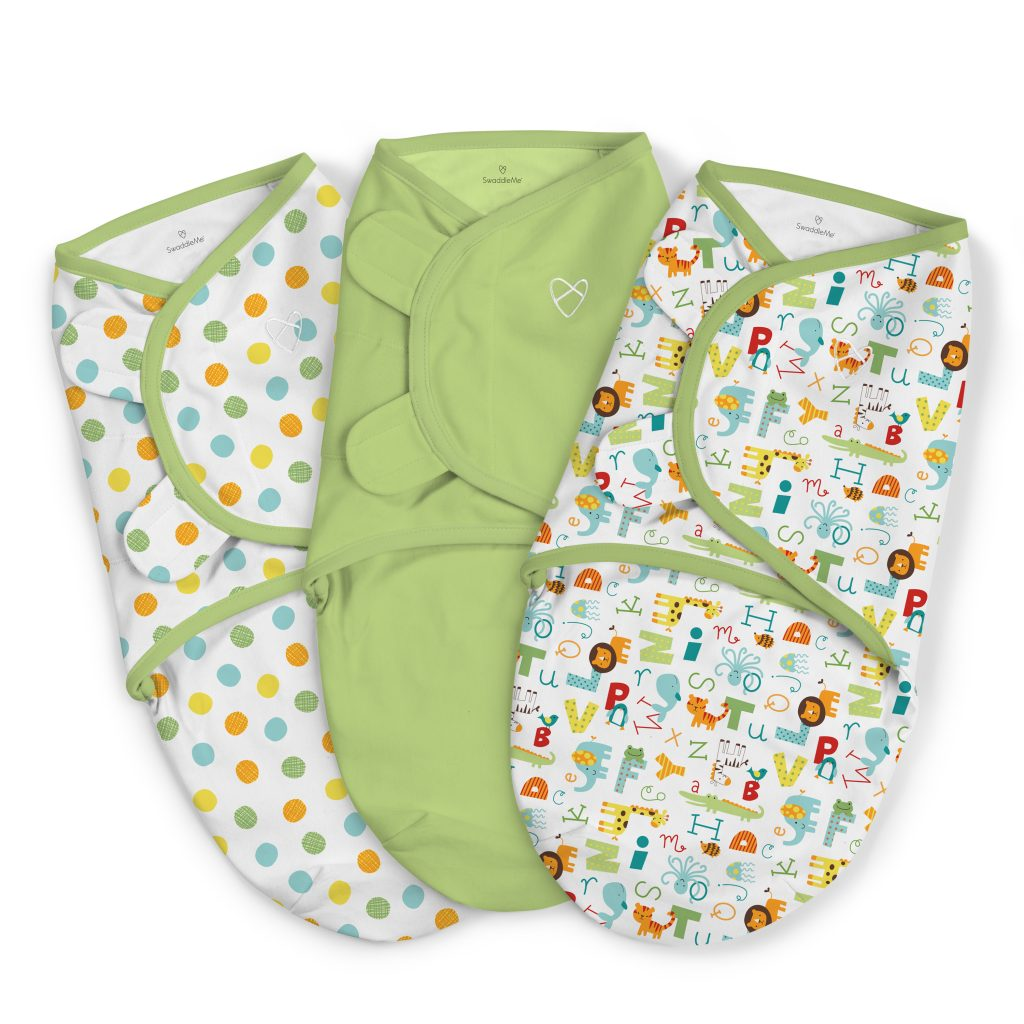 6e2de6b85c SwaddleMe® Original Swaddle - ABC Alphabet - Small - 3PK - Summer ...